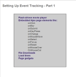 Web Analytics Training: Setting Up Event Tracking - Part 1